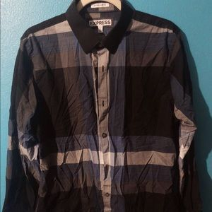 🍄 Men's Express Extra Slim Fit Button Down